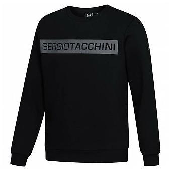 Sergio Tacchini Cozie Mens Sweatshirt Casual Grafisk Märkeshoppare 38157 168