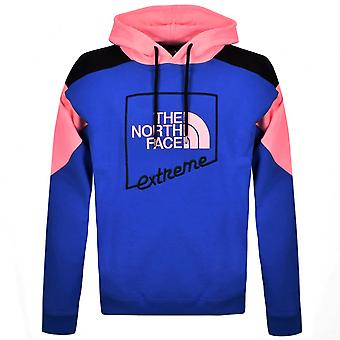 The North Face Mens Xtreme Hoodie Grafisch Logo Jumper Blauw NF0A4A9YP681