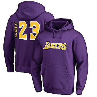 Los Angeles Lakers no.23 Lebron James Pullover Huppari Swearshirt Toppit 3WY309