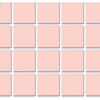 Dolls House Pink Tile Flooring Sheet Moulded Plastic Miniature 1:12 Échelle