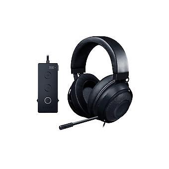Razer kraken tournament edition, wired esports gaming headset with full audio control and thx spatia