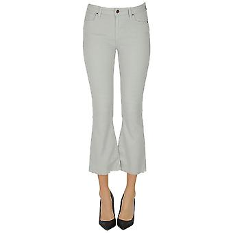 Atelier Cigala's Ezgl457036 Women's Grey Other Materials Jeans