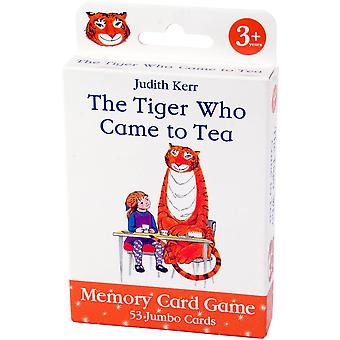University Games Tiger Who Came to Tea Card Game