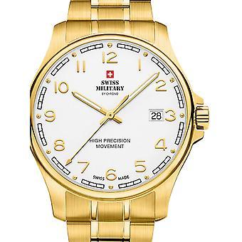 Reloj masculino militar suizo por Chrono SM30200.23, cuarzo, 39 mm, 5ATM
