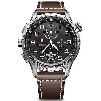 Reloj para hombre Victorinox 241710, cuarzo, 45 mm, 10ATM