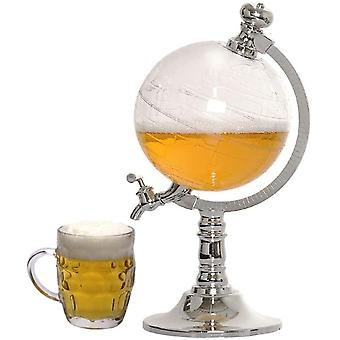 Mini Globe Shape Home Nightclub Beverage Liquor Dispenser Drinking Machine