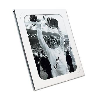 Allan Clarke värvade Leeds United Photo. Presentask