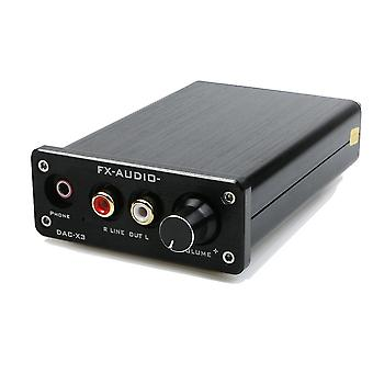 FX-AUDIO MINI DAC-X3 Fiber Coaxial USB Decoder 24BIT/192Khz USB DAC Headphone Decoder Amplifier