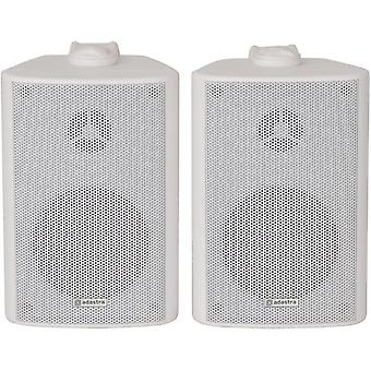 |High Quality Stereo Speakers Supplied In Pairs | 60W Max | White