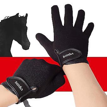 Equestrian Riding Gloves, Professional Wear Resistant, Anti-skid Baseball