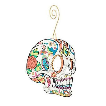 Sugar Skull Ornament #9951