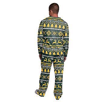 NFL Kış XMAS Pijama Pijama - Green Bay Packers