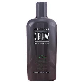 American Crew 3 En 1 Arbre à thé 450 ml