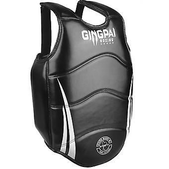 Boxing Chest Guard Kickboxing Solid Body Vest Protector