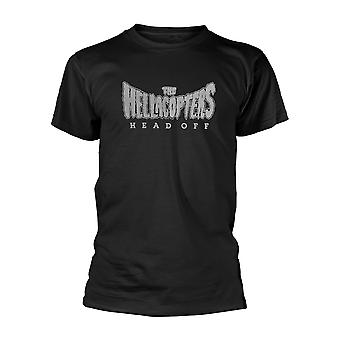 Hellacopters Head Off Oficial Tee T-Shirt Unissex