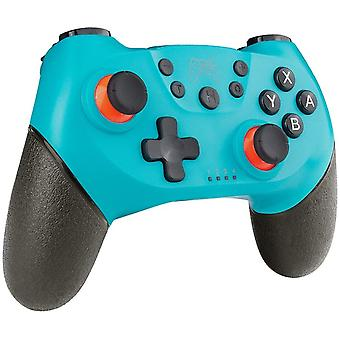 Switch Controller, Wireless Switch Controller with Bluetooth / Gyro Axis Dual Turbo Motor(blue)