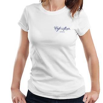 Cafe del Mar Classic Blue Logo Pocket Print Women's T-Shirt