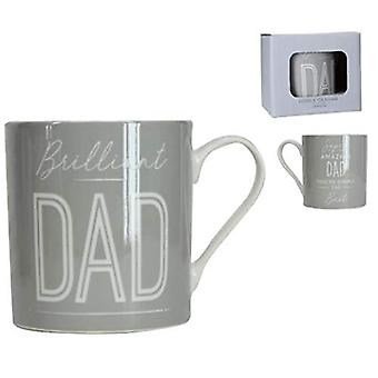 Gisela Graham Brilliant Dad Mug