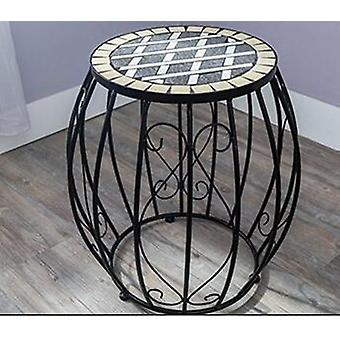 Outdoor Mosaic Tea  Table And Chair