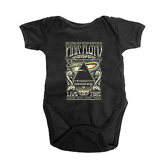 Pink Floyd Baby Grow Carnegie Hall Poster Official Black 0 to 24 Months