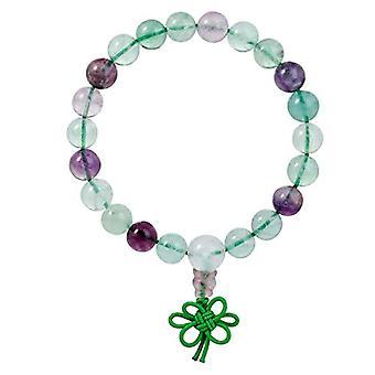 KYEYGWO 21 Mala Armband med Crystal Beads Chakra, unisex, Reiki Stretch, färg: Fluorite (guru bönekedja)., Ref. 0715444069369