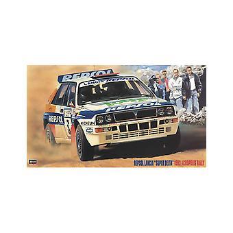 Lancia 'Super Delta' Repsol (1993) Plastic Model Car Kit