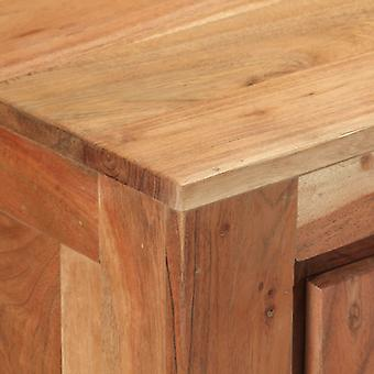 vidaXL Sideboard 175x40x75 cm Akazie Massivholz