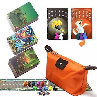 Mini tell story deck 9+10+11 korttipeli, 234 korttia puiset pupu koulutuslelut mielikuvitus lapsille perheen juhlalautapeli
