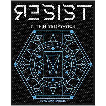 Within Temptation - Resist Hexagon Standard Patch