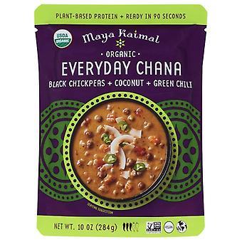 Maya Kaimal Everyday Chana Grn Chili, Case of 6 X 10 Oz