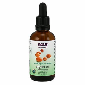 Now Foods Certified Organic Argan Oil, 2 Oz