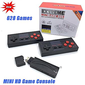 Usb wireless video console tv game stick 4k portable game console 8 bit mini retro controller hd output dual handheld players