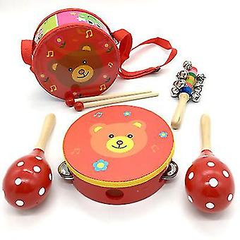 Baby Musical Toys Children's Wooden Toddler Musical Instruments Educational Learning Toys(GROUP1)