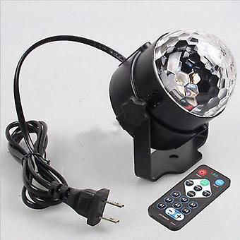 Luzes de disco rotativa controle remoto de luzes de esfera