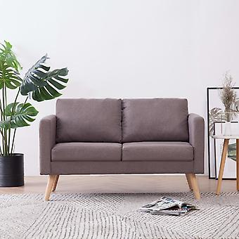 vidaXL 2 canapé canapé-lit