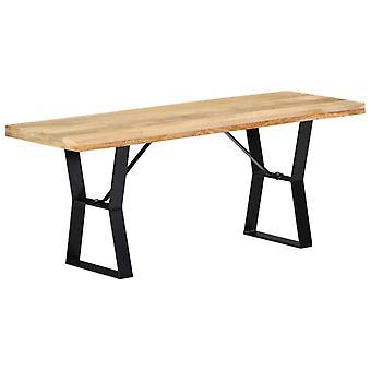 vidaXL Banquette 110 cm en bois massif Mangue