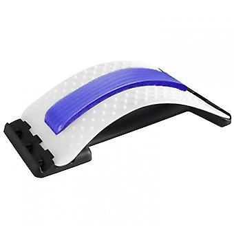 Rückendehnungsgerät, Rückenmassagegerät für Bett & Stuhl & Auto (blau)