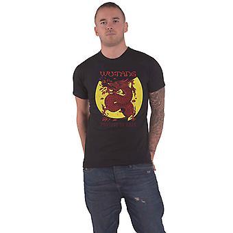 Wu Tang Clan T Shirt Inferno Band Logo new Official Mens Blue