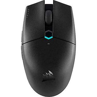 Pelaava hiiri Corsair KATAR PRO RGB 10000 DPI Musta
