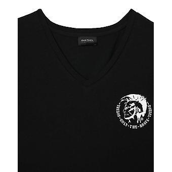 Diesel Michael 3er Pack V-Ausschnitt T-Shirts - Schwarz