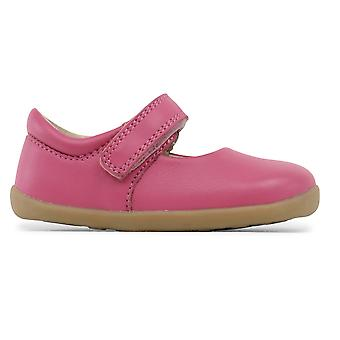 Bobux Step Up Girls Dance Mary Jane Shoes Primrose Pink