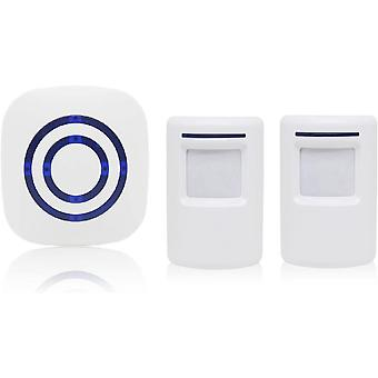 Wireless Alarm System With Motion Detector Access