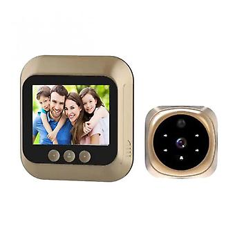 Digital Access Control Camera 2.8-inch High-definition Screen Display Smart Home Access Control Camera Type
