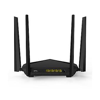 Tenda Ac10U Ac1200 Dual Band Gigabit Wifi Router With Usb