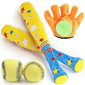 Kids Sports Toy Baseball Set Fitness Ball Toys Bat Gloves