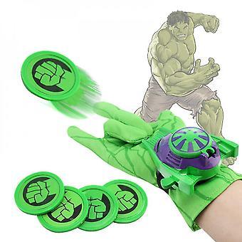 Marvel Dc Superhero Wrist Launcher Gant Shooting Enfant Garçon Jouet Cadeau