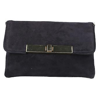 Ladies Van Dal Smart Clutch Bag Blue Bell