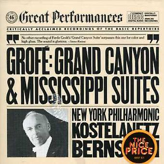 F. Grofe - Grof : Grand Canyon Suite; Mississippi Suite [CD] USA import