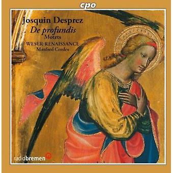 Josquin Desprez - Josquin Desprez: De Profundis - importer des Motets [CD] é.-u.