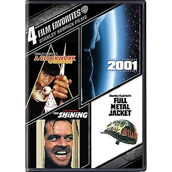 4 Film Favorites: Stanley Kubrick Films [DVD] USA import